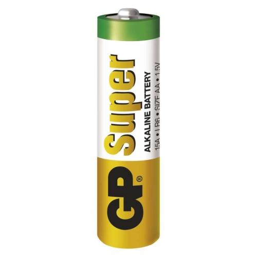 Tužkové baterie AA GP LR6 Super alkalické