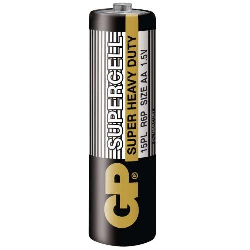 Tužkové baterie AA GP R6 Supercell