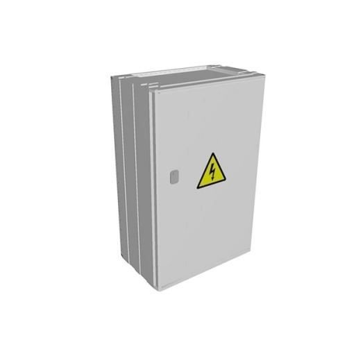 Elektroměrový rozvaděč Elplast PER 1/3F/40 5010 šedý pro ČEZ, E.ON