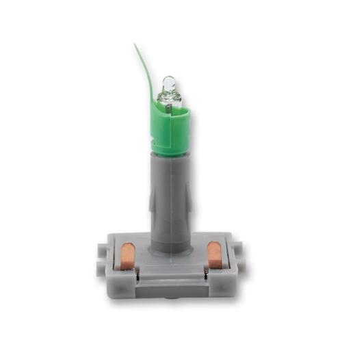 ABB signalizační doutnavka 2mA oranžové světlo (zelený límec) 3916-22221