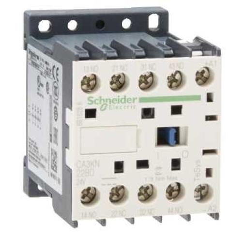 Schneider TeSys pomocný miniStykač 2Z+2V 24VDC CA3KN22BD