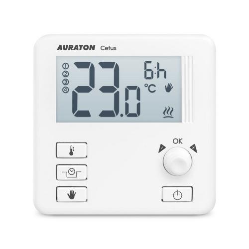 Termostat AURATON 3013 elektronický s nočním poklesem a režimem dovolené