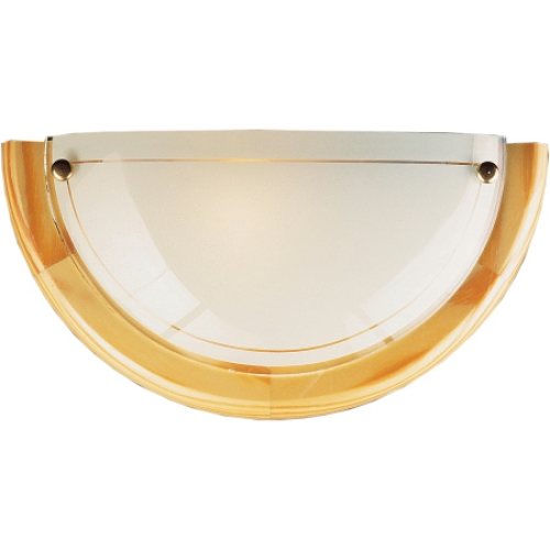 Svítidlo Compolux PUNTO 912011/80 světlé dřevo 1x60W E27 půlkruh 300mm
