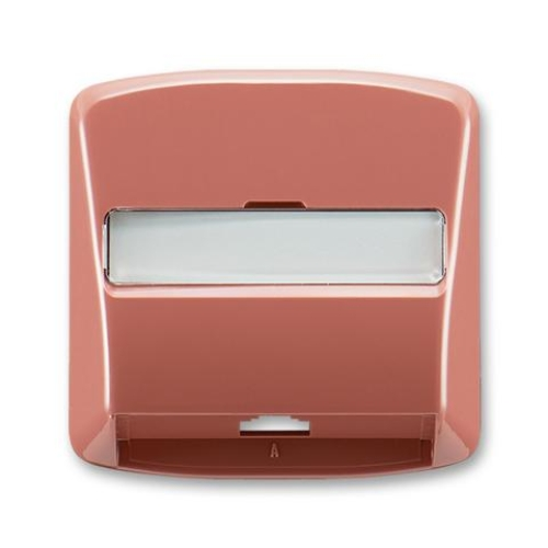 ABB Tango kryt zásuvky telefonní červená 5013A-A00213 R2