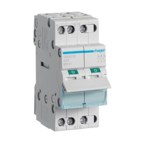 Instalační vypínač hager SBN332 3P 32A