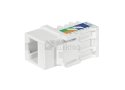 Legrand Linkeo konektor data keystone RJ45 Cat.5e UTP bílá 632703