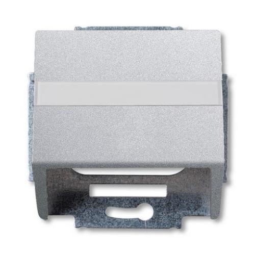 ABB Future Linear kryt datové zásuvky hliníková stříbrná 1724-0-4263 (1758-83) 2CKA001724A4263
