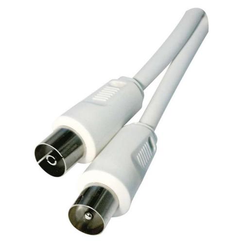 Anténní koaxiální kabel EMOS SD3002 2,5m rovné vidlice