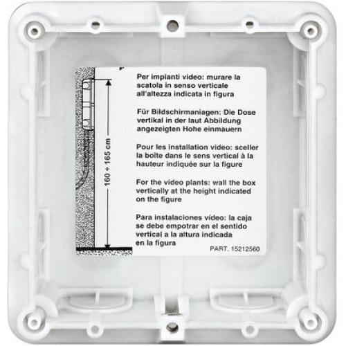 Bticino instalační krabice do zdi Sfera 1M 350010