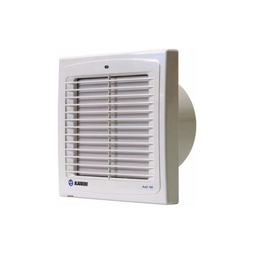 Koupelnový ventilátor s automatickou žaluzií a časovým doběhem AUTO 100T