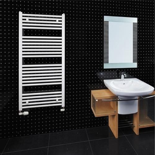 Koupelnový žebřík rovný 90x45cm 300W KLCE 900.450