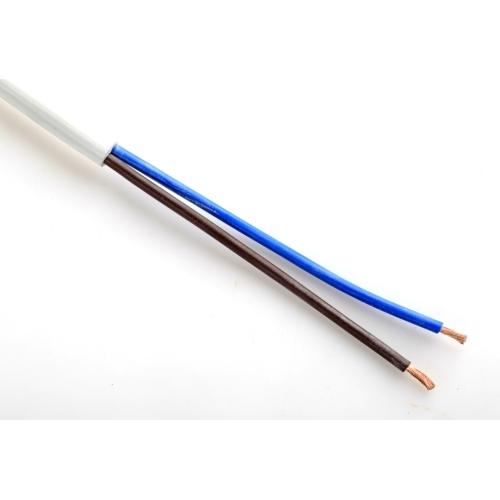 Kabel H05VV-F 2x2,5 bílá (CYSY 2Dx2,5)