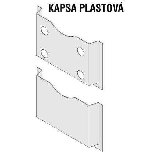Kapsa na dokumenty A4 plastová N00020000901
