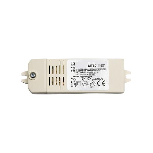 Transformátor napětí MT60, 230/12V, min. 20W max. 60W, IP40