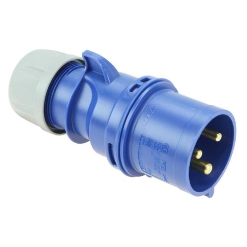 Vidlice PCE 32A/3p IP44 023-6