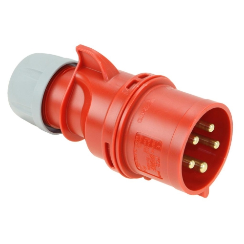 Vidlice PCE 025-6 32A/5P/400V IP44 Twist