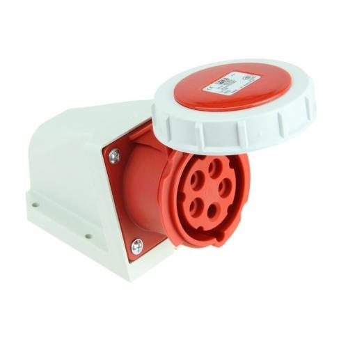 Zásuvka nástěnná PCE 1152-6 16A/5P/400V IP67