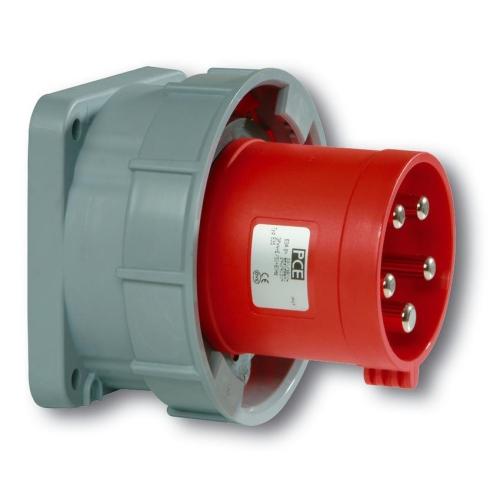 Přívodka vestavná PCE 635-6 63A/5P/400V IP67