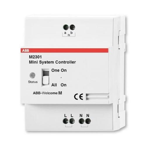 Jednotka mini pro napájení a řízení vstupního systému ABB Welcome Midi M2301 (8300-0-8104) 2TMA21016