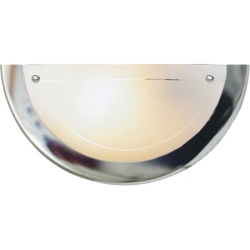 Svítidlo Compolux PUNTO 912011/72 chrom 1x60W E27 půlkruh 300mm