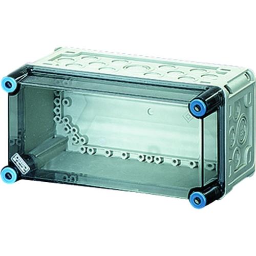 Prázdná rozvodnice s průhledným víkem IP65 150x300x170mm Mi 90100
