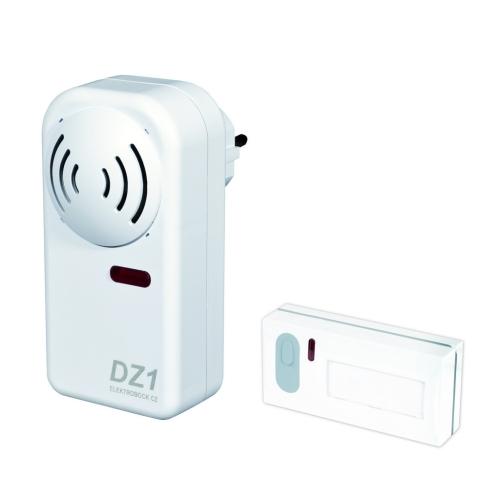 Bezdrátový domovní zvonek ELEKTROBOCK DZ1-1