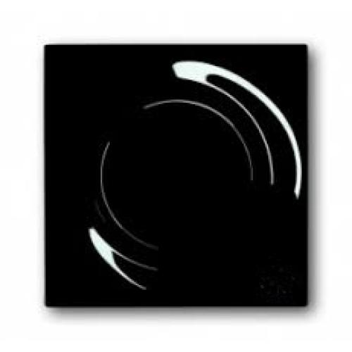 ABB Impuls kryt vypínače brilantní černá 1753-0-9541