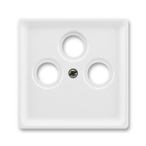 ABB Classic kryt zásuvky televizní jasně bílá 5011C-A201 B1
