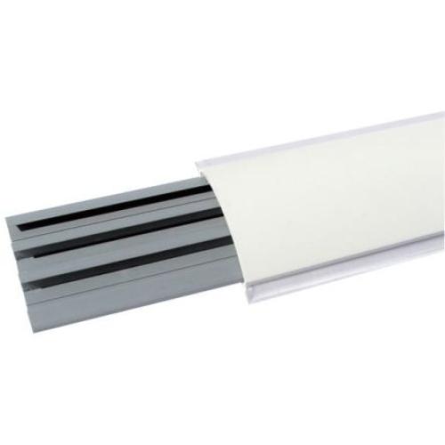 Přechodová podlahová lišta IBOCO I-CSP-N 75x17 bílá (2m)