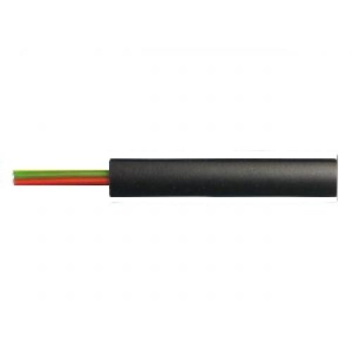Telefonní kabel dvoužílový černý (100m)