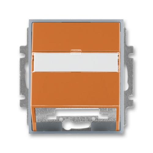 ABB Element kryt datové zásuvky karamelová/ledová šedá 5014E-A00100 07