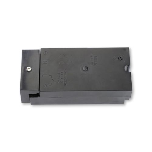 ABB automatický schodišťový vypínač elektronický černá SA10E-230
