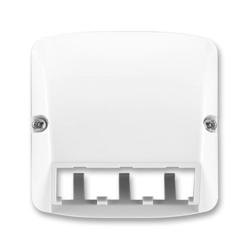 ABB Tango kryt datové zásuvky bílá 5014A-A00410 B pro Panduit Mini-Com
