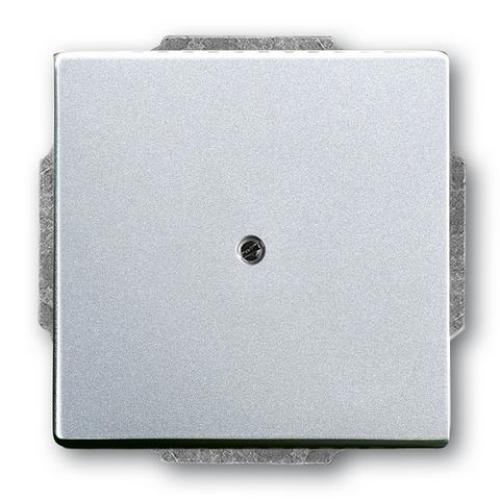 ABB Future Linear záslepka hliníková stříbrná 1710-0-3664 (1742-83) 2CKA001710A3664