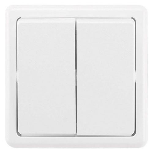 ABB Classic vypínač č.6+6 dvojitý jasně bílá 3553-52289 B1