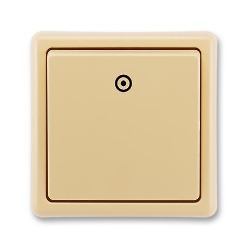 ABB Classic tlačítko č.1/0 béžová 3553-80289 D2