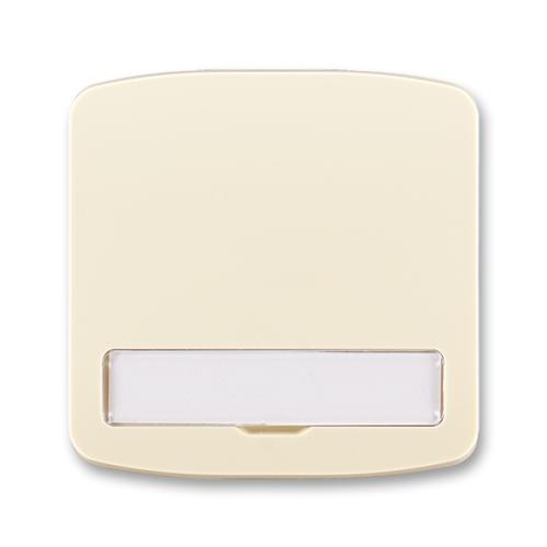 ABB Tango kryt vypínače s popisovým polem slonová kost 3558A-A00620 C