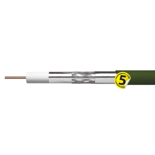 Koaxiální kabel do země CB113N EMOS S5263 zelený