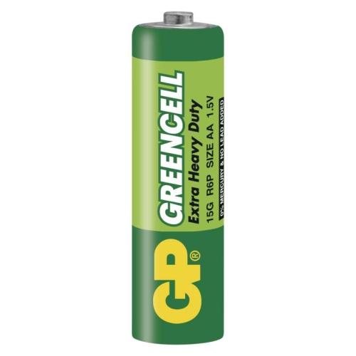 Tužkové baterie AA GP R6 Greencell