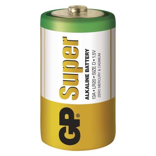 Baterie D GP LR20 Super alkalické