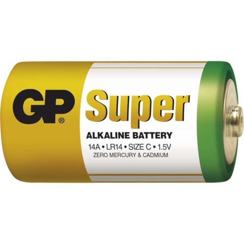 Baterie C GP LR14 Super alkalické