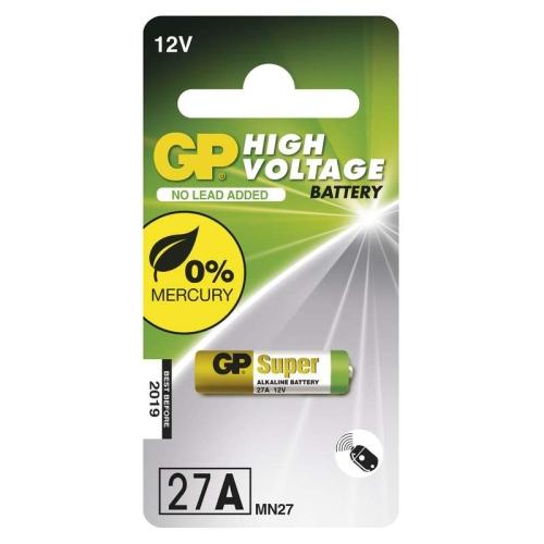 Baterie GP 27AF speciální alkalická 1ks 1021002711