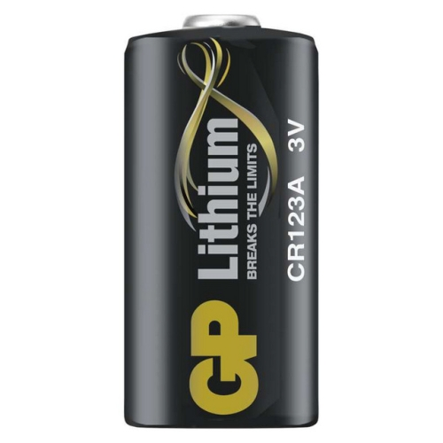 Baterie GP CR123A lithiová 1ks 1022000111