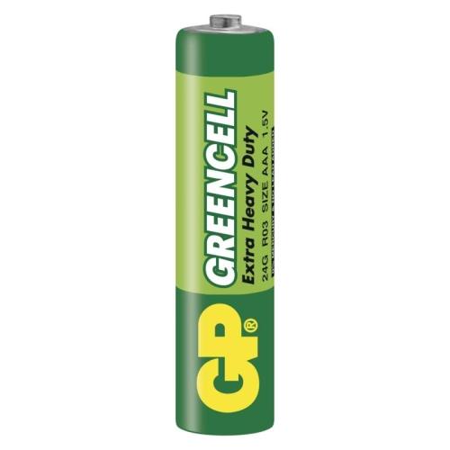 Mikrotužkové baterie AAA GP R03 Greencell