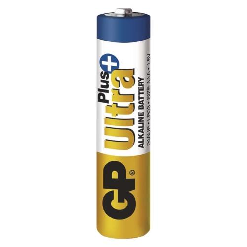 Mikrotužkové baterie AAA GP LR03 Ultra Plus alkalické