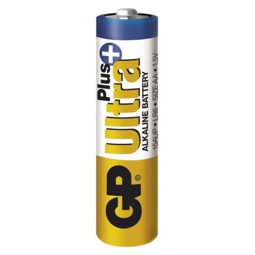 Tužkové baterie AA GP LR6 Ultra Plus alkalické