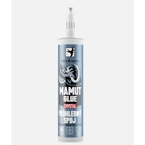 Den Braven lepidlo MAMUT GLUE CRYSTAL 290ml transparent 51930BD