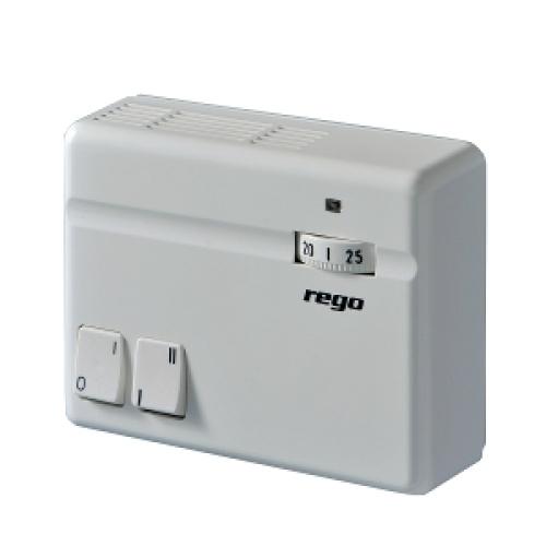 Pokojový termostat REGO 973 02 pro akumulační kamna
