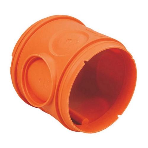 Vysoké tělo krabice do betonu KOPOS KBT-1 AB, oranžová
