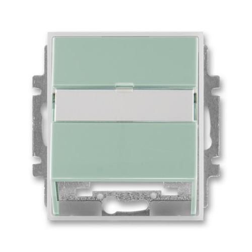 ABB Element kryt datové zásuvky agáve/ledová bílá 5014E-A00100 22